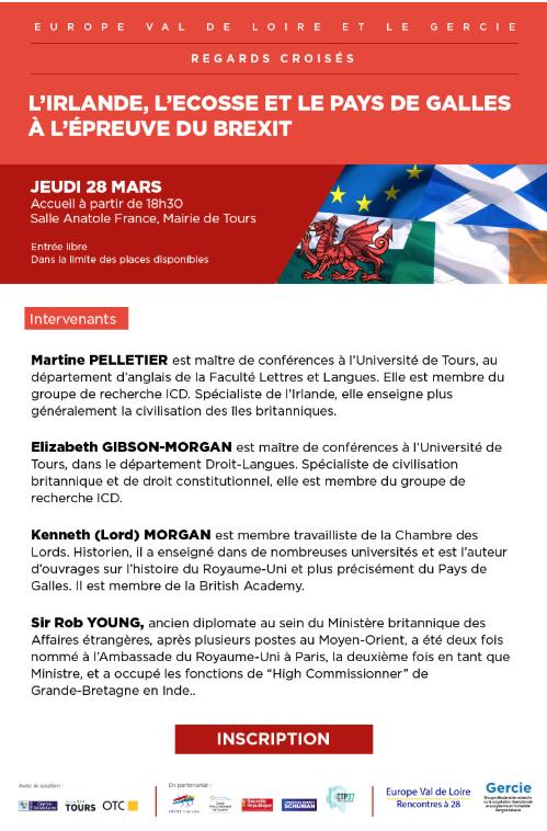 L'Irlande, l'Ecosse et le Pays de Galles à l'épreuve du Brexit